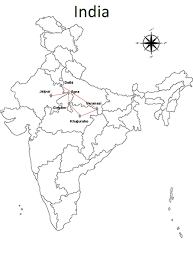 North India Map by North India Holiday Tour Package North India Travel