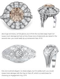 how much are engagement rings engagement rings ranked by their ability to someone s nose