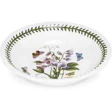 portmeirion botanic garden pasta bowl 25cm sweet pea louis potts