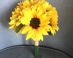 sunflower bouquet sunflower bouquet etsy