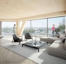 Interieur Aus Holz Und Beton Haus Bilder Holz Wird Zum Angesagten Hightech Baumaterial Welt