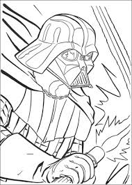 darth vader fighting coloring free printable coloring pages