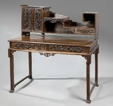 bureau bonheur du jour bureau bonheur du jour en bois exotique et placage extrême orient