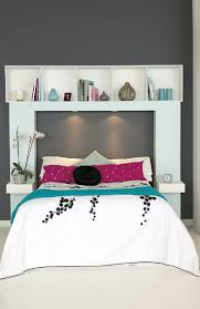 Shelves Over Bed Best Images About Diy Headboard Ideas With Headboards Shelves