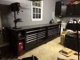 Workbench With Light Garage Workbench Garage Storage Cabinet Enchanting Modular
