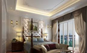 of white bedroom classic bed design 3d house