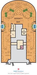 Carnival Floor Plan Carnival Vista Deck Plans Serenity Deck What U0027s On Serenity