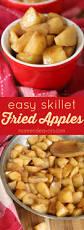 easy skillet fried apples fried apples make for a tasty dessert
