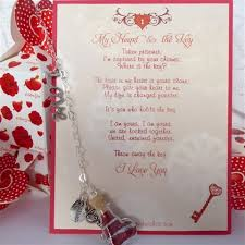 key to my heart gifts gifts for him or from captured wishes