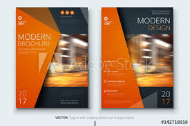 magazine layout size corporate business annual report cover brochure or flyer design