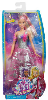 barbie star light adventure barbie star light adventure galaxy gown doll toys r us
