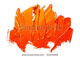 orange paint orange oil paint spot on white stock photo 514231858 shutterstock
