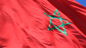 China Flag Waving Moroccan Flag Waving In The Wind Video Clip 24434452