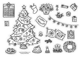 Decorate Christmas Tree Printable by Christmas Decorations Printables
