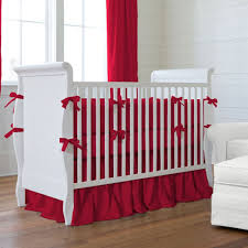 baby nursery red ba bedding solid red crib bedding collection