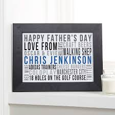 fathers day personalized gifts s day gifts bespoke typographic prints canvases