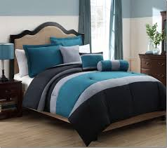 Black Bedding Sets Queen Cheap Unique Blue Comforter Set Black Comforter Blue Comforter
