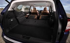 gmc yukon trunk space 2019 subaru ascent cargo space photos first pictures 2019