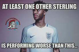 Sterling Meme - meme sterling performance fantasy football titan
