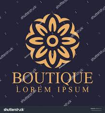 luxury logo decoration logo interior icon stock vector 509992714