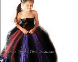 scary witch tutu dress halloween costume little girls size 6