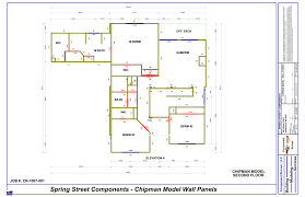 Typical Floor Framing Plan by The Mitek Buildability Process
