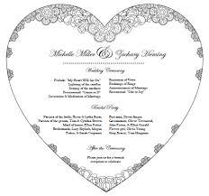 do it yourself wedding programs wedding program fan jpg