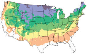 Gardening Zones Usa - states at arborday org