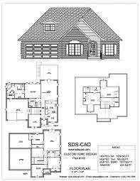 house plan ands wonderful sdscad plans main floor and blueprints