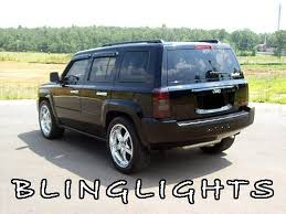 custom jeep tail light covers jeep patriot tinted smoked taills taillights overlays protection film