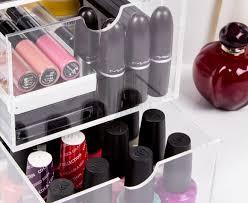 catch com au 3 drawer acrylic nail polish u0026 cosmetic organiser