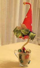 diy christmas topiary trees impressive gift idea glass tea cup tat
