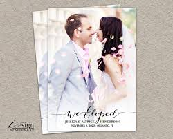 wedding announcement cards best 25 marriage announcement ideas on elopement