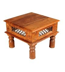 Jali Coffee Table Puhar Sheesham Wood Jali Design Coffee Table By Mudramark