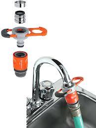 faucet kitchen faucet hose adapter lowes faucet to garden hose