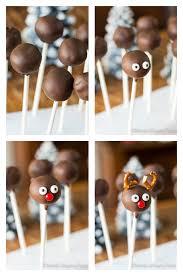 reindeer chocolate cake pops mariah u0027s pleasing plates