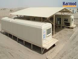 bureau préfabriqué modules préfabriqués bungalow chantier bureau karmod karmod