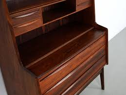 Contemporary Secretary Desk by Vintage Danish Rosewood Secretary Desk With Pullout Surface For