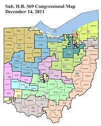 Map Ohio State by Ohio U0027s New Congressional District Map Find Your District