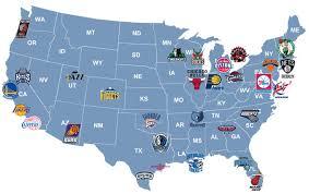 nba divisions map nba teams map nba teams map nba