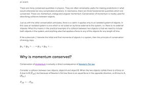 what are momentum and impulse article khan academy