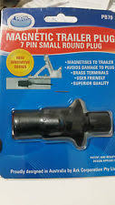 ark 7 pin magnetic small round plastic trailer plug pb70 ebay