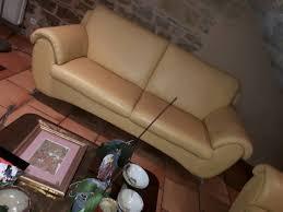 nicoletti canapé canapés nicoletti cuir impeccables mes occasions com