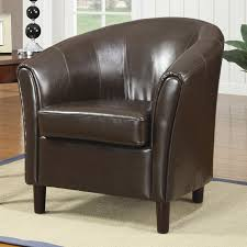 Brown Leather Accent Chair Brown Leather Accent Chair A Sofa Furniture Outlet Los