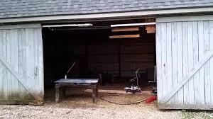 Barn Door Electric by Automatic Sliding Barn Door Youtube