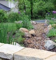 wonderful dry riverbed landscaping ideas dry river bed landscape