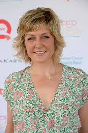 hairstyle of amy carlson more pics of amy carlson print dress 1 of 2 amy carlson