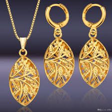 african necklace earrings images 2018 fashion 18k gold middle east jewelry set gold african jpg