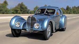 bugatti atlantic chantilly la première bugatti 57 atlantic exposée