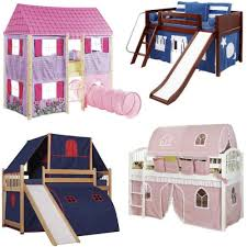 Bunk Bed With Tent Loft Bed Etc Bloomize